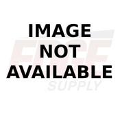 GRAY METAL SLIDE TRUNK, 16 X 8 X 60