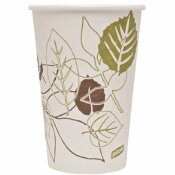 DIXIE 16 OZ. PRINTED PAPER HOT CUP (1000 PER CASE)