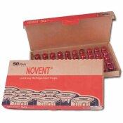 RECTORSEAL NOVENT PINK R410 1/4 IN. THREAD REFRIGENT CAP