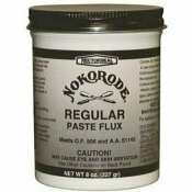 RECTORSEAL NOKORODE 8 OZ. REGULAR PASTE SOLDER FLUX LEAD FREE