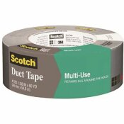 3M 1.88 IN. X 60 YDS. X 7.0 MIL. CONTRACTOR GRADE MULTI-USE DUCT TAPE SILVER (24-PACK) - 3M PART #: 2979