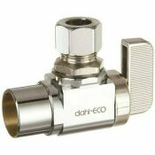 DAHL BROTHERS DAHL ANGLE BALL VALVE STOP 1/2IN. C X 3/8IN. O.D., LEAD FREE - DAHL BROTHERS PART #: 6111331IL