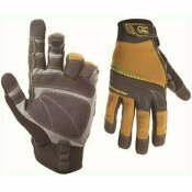 CUSTOM LEATHERCRAFT CLC CONTRACTOR XC LARGE HIGH DEXTERITY WORK GLOVES