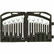 STANLEY SATIN COMBINATION WRENCH SET (20-PIECE)