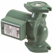 TACO 00 SERIES 1/25 HP CAST IRON HYDRONIC CIRCULATOR WITH INTEGRAL FLOW CHECK