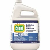 COMET 1 GAL. CLOSED LOOP LIQUID DISINFECTING CLEANER WITH BLEACH WITH SPRAY BOTTLE - COMET PART #: 003700030250