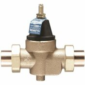 WATTS WATER TECHNOLOGIES 1 IN. DOUBLE SWEAT PRESSURE REDUCING VALVE - WATTS WATER TECHNOLOGIES PART #: 1 LFN45BM1-DU-S