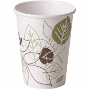 DIXIE PAPER HOT CUP, 12 OZ. (FITS LARGE LIDS), PATHWAYS (20 SLEEVES PER CASE, 50 CUPS PER SLEEVE)