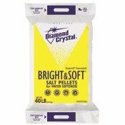 DIAMOND CRYSTAL BRIGHT AND SOFT WATER SOFTENER SALT PELLETS
