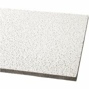 ARMSTRONG 2 FT. X 2 FT. FINE FISSURED HUMIGUARD PLUS ACOUSTICAL CEILING PANEL (16-PACK) - ARMSTRONG CEILINGS PART #: 1728A