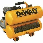 DEWALT 4 GAL. PORTABLE ELECTRIC AIR COMPRESSOR