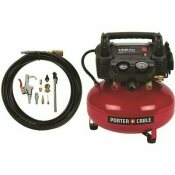 PORTER-CABLE 6 GAL. PORTABLE ELECTRIC AIR COMPRESSOR