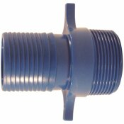 1-1/2 IN. POLYPROPYLENE BLUE TWISTER INSERT X MPT