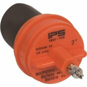 IPS CORPORATION 2 IN. IPS CLEANOUT TEST PLUG FOR GENERAL USE