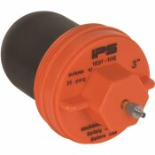 IPS CORPORATION 3 IN. IPS CLEANOUT TEST PLUG FOR GENERAL USE - IPS CORPORATION PART #: 83663