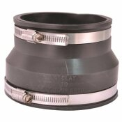 FERNCO FLEXIBLE TRANSITION COUPLING 4 IN.