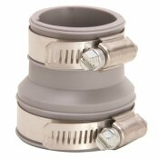FERNCO 1 IN. - IN. FLEXIBLE PVC CLAMP REDUCER COUPLING
