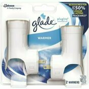 GLADE PLUGINS SCENTED OIL ELECTRIC WARMER (PACK OF 2)