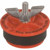 TEST-TITE 4 IN. PLASTIC TWIST-TITE MECHANICAL WINGNUT TEST PLUG