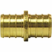 APOLLO 3/4 IN. BRASS PEX BARB COUPLING (10-PACK)