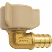 APOLLO 1/2 IN. BRASS PEX BARB X 1/2 IN. FEMALE SWIVEL 90-DEGREE ELBOW