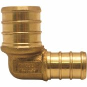 APOLLO 3/4 IN. X 1/2 IN. BRASS PEX BARB 90-DEGREE REDUCING ELBOW