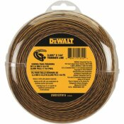DEWALT 0.095 IN. X 144 FT. REPLACEMENT LINE FOR CORDLESS BATTERY OPERATED BUMP FEED STRING GRASS TRIMMER/LAWN EDGER
