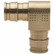 TRIBAL MFG. ONE-PIECE BRASS ELBOW, 3/4 IN. X 3/4 IN., PEX-A, LEAD FREE