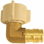 APOLLO 1/2 IN. BRASS PEX-A EXPANSION BARB X 1/2 IN. FNPT FEMALE SWIVEL 90-DEGREE ELBOW
