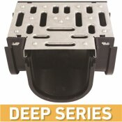 U.S. TRENCH DRAIN DEEP SERIES TEE FOR 5.4 IN. TRENCH AND CHANNEL DRAIN SYSTEMS W/ STAINLESS STEEL GRATE - U.S. TRENCH DRAIN PART #: 83901