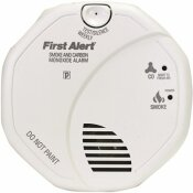FIRST ALERT HARDWIRED INTERCONNECTED SMOKE AND CARBON MONOXIDE ALARM WITH VOICE ALERT - FIRST ALERT PART #: SC7010BV