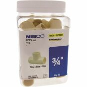 NIBCO 3/4 IN. CPVC CTS SXSXS TEE FITTING (15-JAR)
