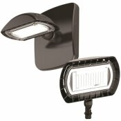 PROBRITE 100-WATT EQUIVALENT INTEGRATED OUTDOOR LED FLOOD LIGHT WITH WALL PACK MOUNT, 1500 LUMENS, OUTDOOR SECURITY LIGHTING