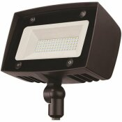 PROBRITE HIGH-OUTPUT 350-WATT EQUIVALENT INTEGRATED OUTDOOR LED FLOOD LIGHT, 5000 LUMENS, DUSK TO DAWN OUTDOOR SECURITY LIGHT