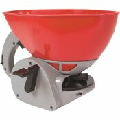 CHAPIN 1.6 L/0.4 GAL. ALL SEASON POLY HAND CRANK SPREADER FOR SEEDS, FERTILIZER AND ICE MELT