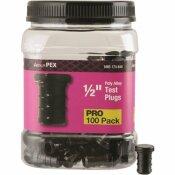 APOLLO 1/2 IN. PLASTIC PEX BARB PLUG PRO PACK (100-PACK)