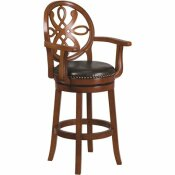 FLASH FURNITURE 30.5 IN. BRANDY BAR STOOL