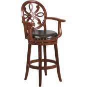 FLASH FURNITURE 30.5 IN. CHERRY BAR STOOL