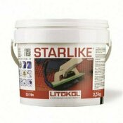 THE TILE DOCTOR 2.5 KG STARLIKE GLAMOUR ROSSO ORIENTE/RED GROUT