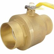 APOLLO 4 IN. BRASS SWT X SWT FULL-PORT BALL VALVE