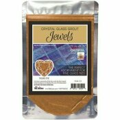 THE TILE DOCTOR CRYSTAL GLASS JEWELS TIGERS EYE ADDITIVE