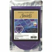 THE TILE DOCTOR CRYSTAL GLASS JEWELS AMETHYST ADDITIVE