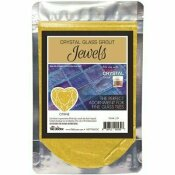 THE TILE DOCTOR CRYSTAL GLASS JEWELS CITRINE ADDITIVE