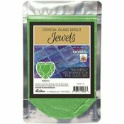 THE TILE DOCTOR CRYSTAL GLASS JEWELS PERIDOT ADDITIVE