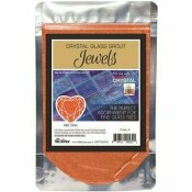 THE TILE DOCTOR CRYSTAL GLASS JEWELS FIRE OPAL ADDITIVE
