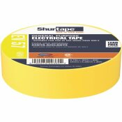 SHURTAPE EV 57 GENERAL PURPOSE ELECTRICAL TAPE, UL LISTED, YELLOW, 7 MILS, 3/4 IN. X 66 FT. [1 ROLL]
