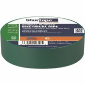 SHURTAPE EV 57 GENERAL PURPOSE ELECTRICAL TAPE, UL LISTED, GREEN, 7 MILS, 3/4 IN. X 66 FT. [1 ROLL]