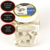 CHARLOTTE PIPE 3/4 IN. X 3/4 IN. X 1/2 IN. PVC TEE (20-PACK)