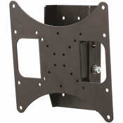 CONTINUUS FLAT TILT WALL MOUNT FOR 22 IN. TO 49 IN., 80 LBS. MAX IN BLACK