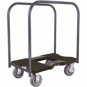 SNAP-LOC 1,800 LBS. CAPACITY SUPER-DUTY PROFESSIONAL METAL PANEL CART DOLLY IN BLACK